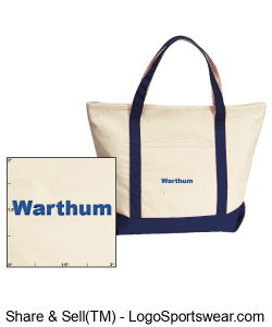 Warthum Boat Bag Design Zoom